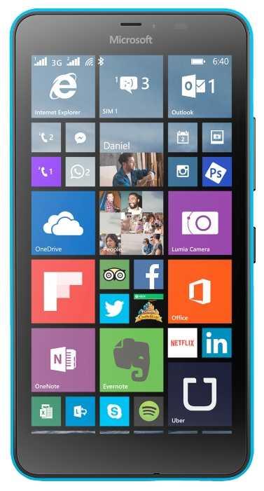 Цены на ремонт Lumia 640 XL 3G Dual Sim Rm-1067